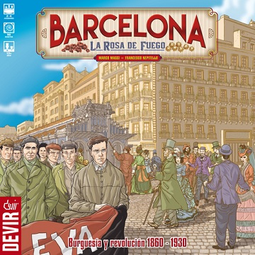 BARCELONA - THE ROSE ON FIRE [SALE]