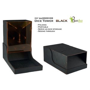 Bandua Wargames: Dice Tower -Black