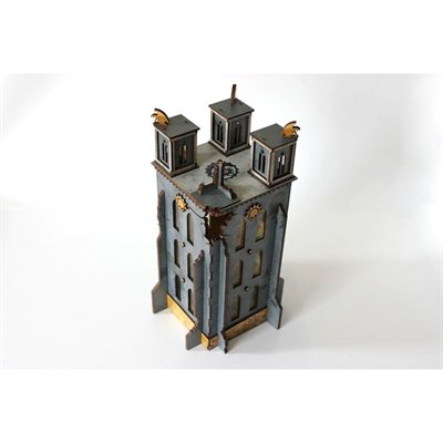 Bandua Wargames: Prepainted Terrain: Indomitus Aldan- The Bell Of Souls Tower