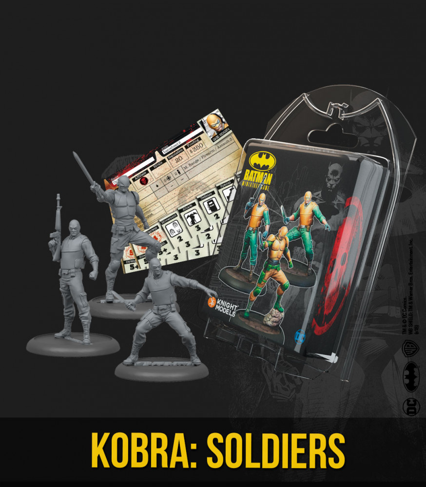 Batman Miniature Game 2nd Edition: Kobra- Soldiers