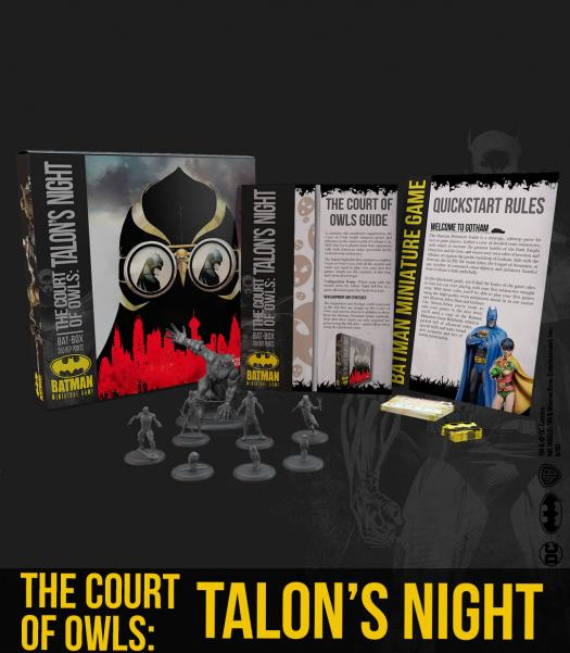 Batman Miniature Game 2nd Edition: The Court of Owls- Talons Night