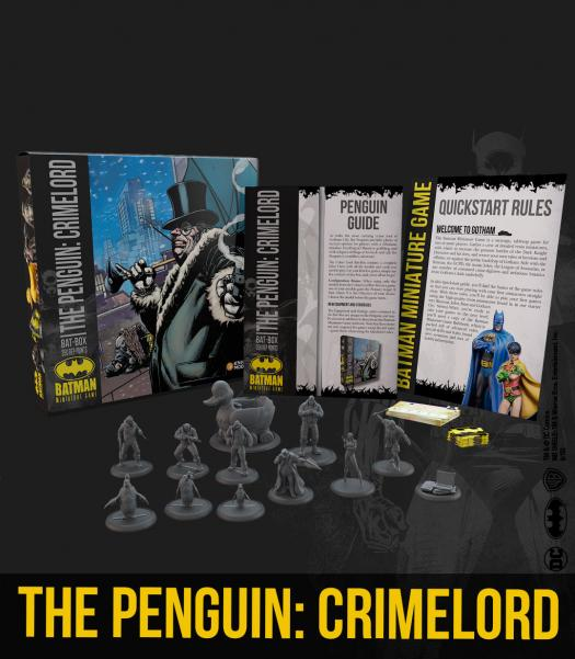 Batman Miniature Game 2nd Edition: The Penguin- Crimelord