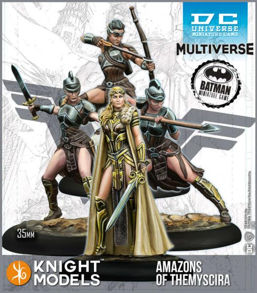 DC Universe Miniature Game: Amazons of Themyscira (Multiverse) (Resin)