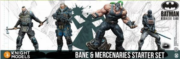 Batman Miniatures Game 2nd Edition: Bane and Mercenaries Starter Set (2nd Edition) (Resin)