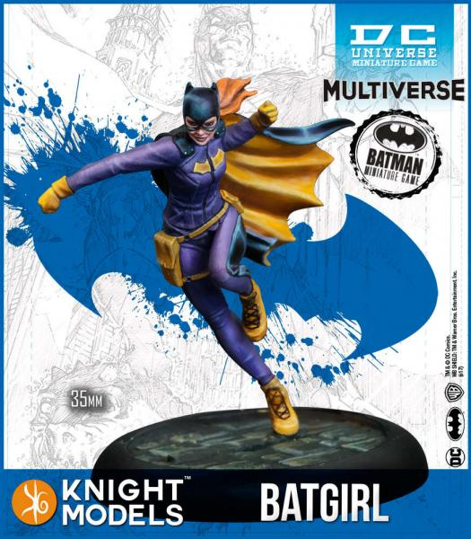 Batman Miniatures Game 2nd Edition: Batgirl Rebirth (2nd Edition) (Resin)