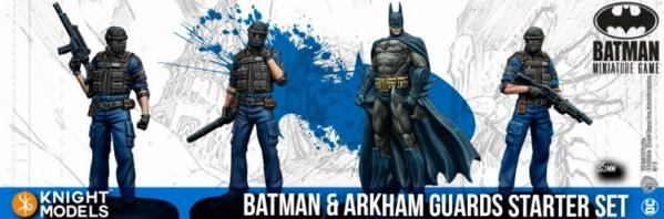 Batman Miniatures Game 2nd Edition: Batman and Arkham Guards Starter Set (2nd Edition) (Resin)
