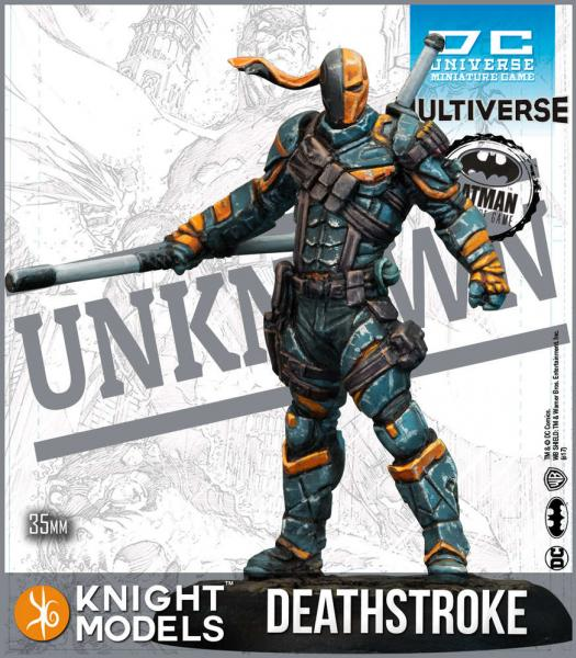 Batman Miniatures Game 2nd Edition: Deathstroke (2nd Edition) (Resin)