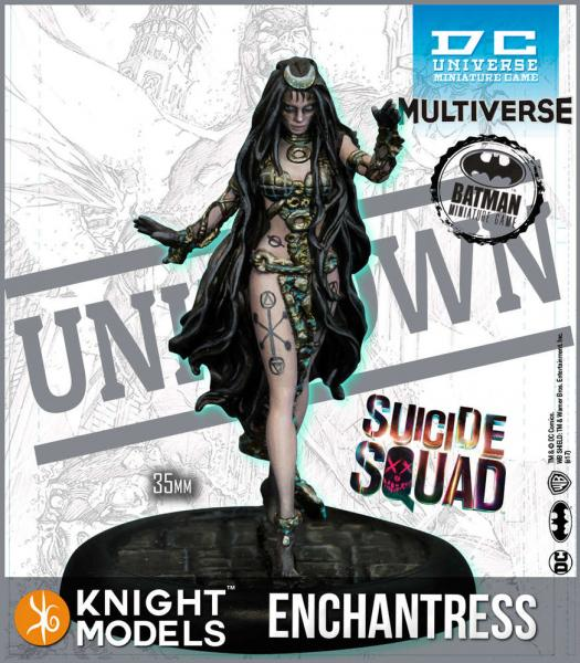 Batman Miniatures Game 2nd Edition: Enchantress (2nd Edition) (Resin)