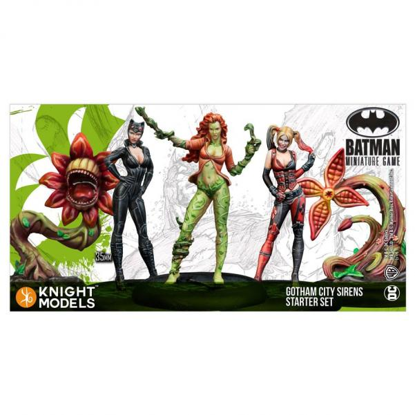 Batman Miniatures Game 2nd Edition: Gotham City Sirens Starter Set (2nd Edition) (Resin)