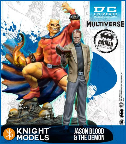 Batman Miniatures Game 2nd Edition: Jason Blood & The Demon (2nd Edition) (Resin)