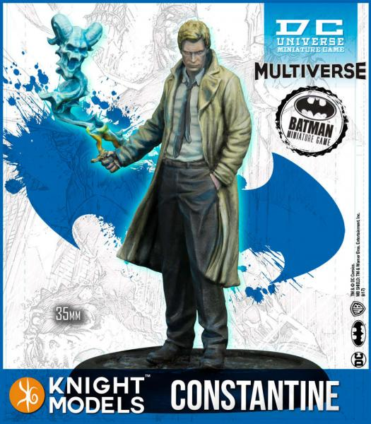 Batman Miniatures Game 2nd Edition: John Constantine (2nd Edition) (Resin)