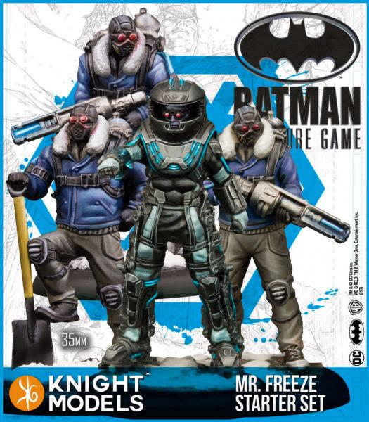 Batman Miniatures Game 2nd Edition: Mr Freeze Starter Set (2nd Edition) (Resin)
