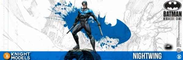 Batman Miniatures Game 2nd Edition: Nightwing (2nd Edition) (Resin)