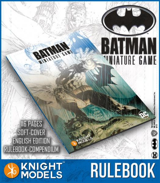 Batman Miniatures Game 2nd Edition: Rulebook