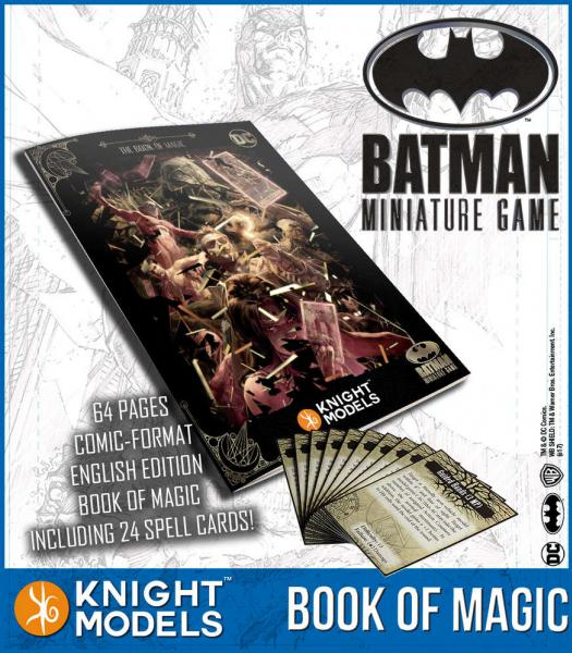 Batman Miniatures Game 2nd Edition: The Book of Magic