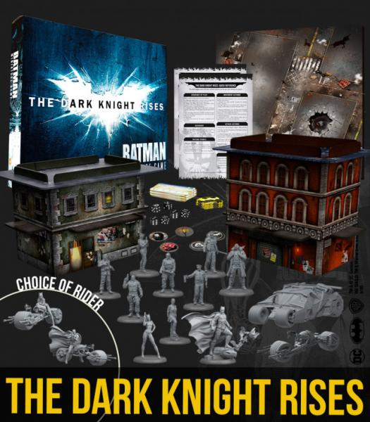 Batman Miniatures Game 2nd Edition: The Dark Knight Rises