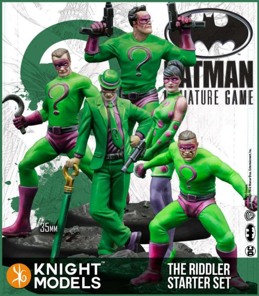 Batman Miniatures Game 2nd Edition: The Riddler Starter Set (2nd Edition) (Resin)