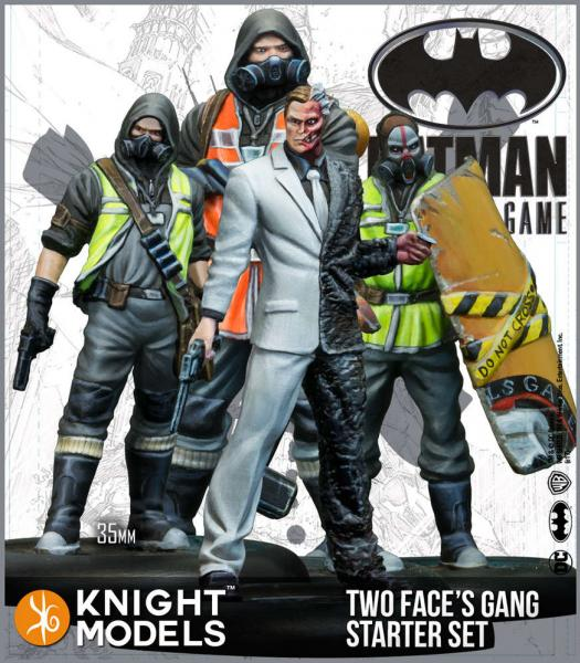Batman Miniatures Game 2nd Edition: Two Face's Gang Starter Set (2nd Edition) (Resin)