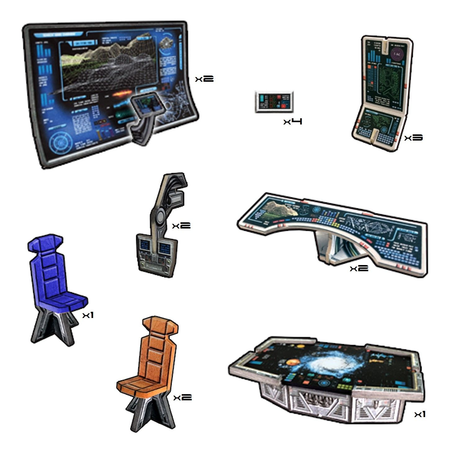Battle Systems: Galactic Consoles