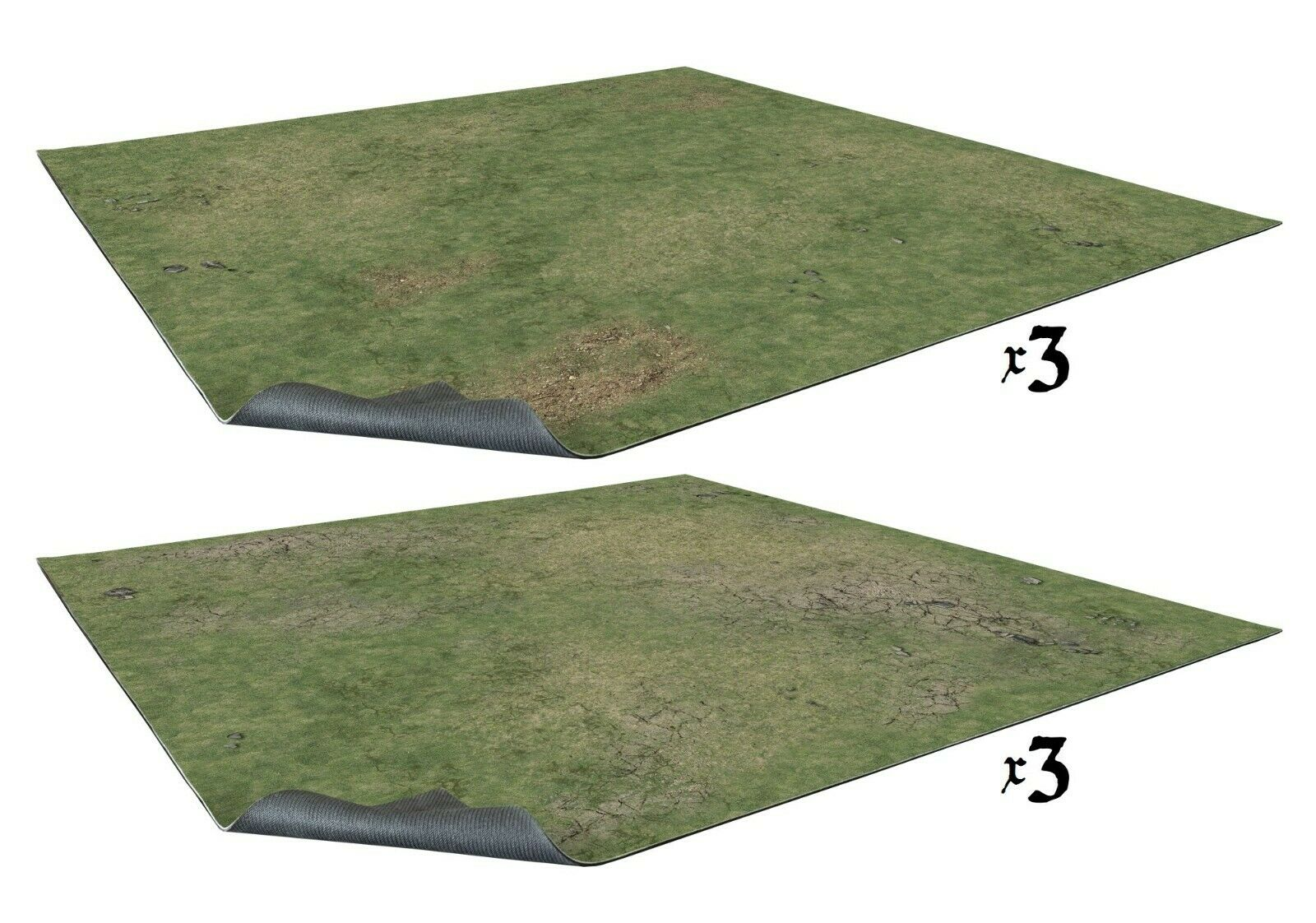 Battle Systems: Grassy Fields 6x4 Gaming Table