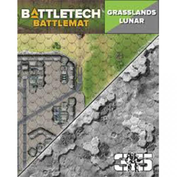 CAT35800B BattleTech Battle Mat Grasslands Lunar