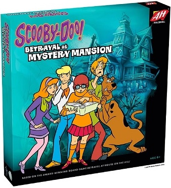 Scooby-Doo Betrayal at Mystery Mansion [DAMAGED]