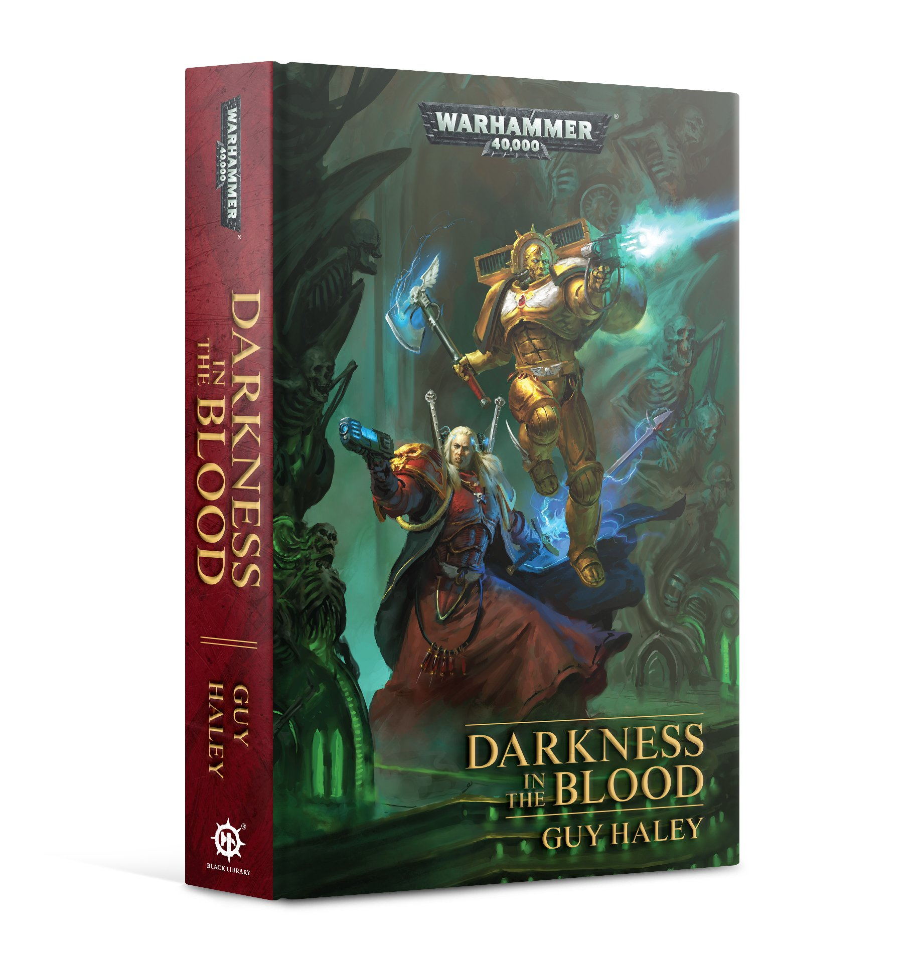Black Library: Warhammer 40,000: Darkness in the Blood (HB)