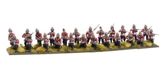 British Line Infantry Brigade Zulu War Black Powder New