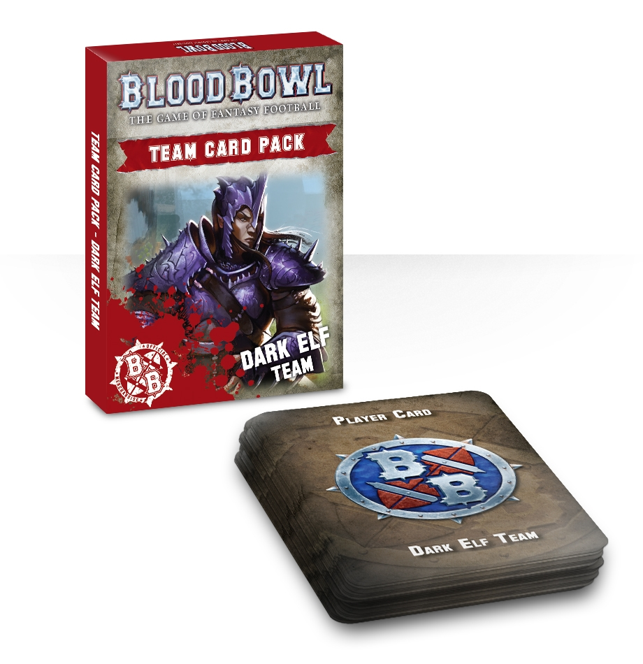 Blood Bowl: Team Card Pack – Dark Elf