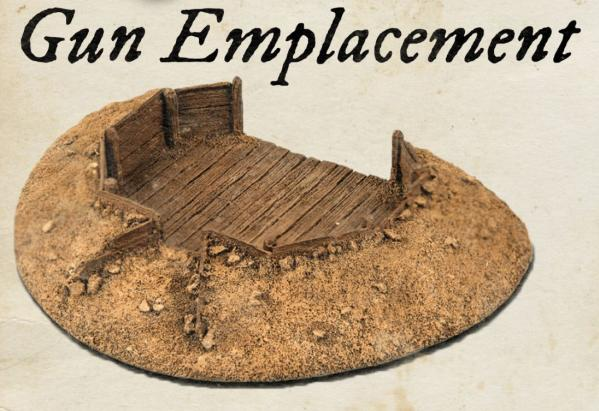 Blood & Plunder: Gun Emplacement