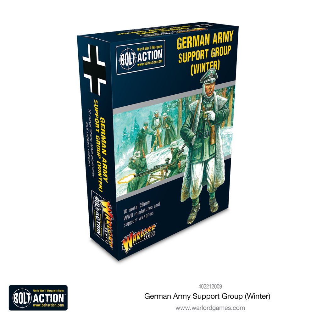Bolt Action: German: German Army (Winter) Support Group