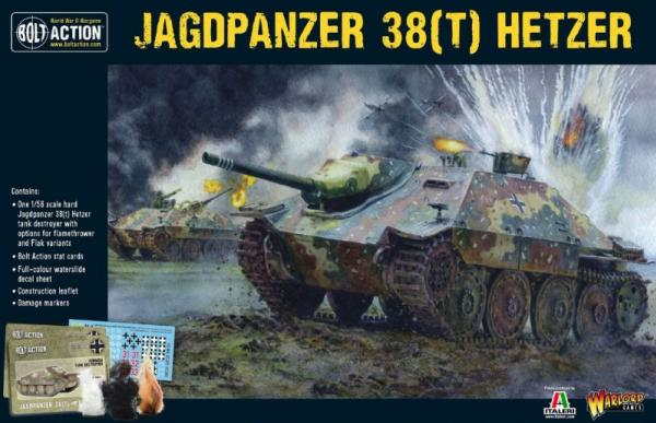 Bolt Action: German: Jagdpanzer 38[T] Hetzer