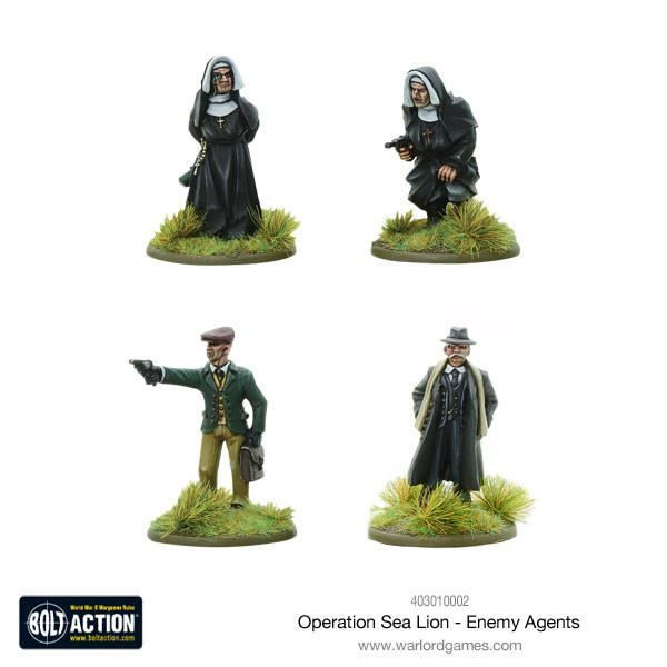 Bolt Action: German: Operation Sea Lion Enemy Agents