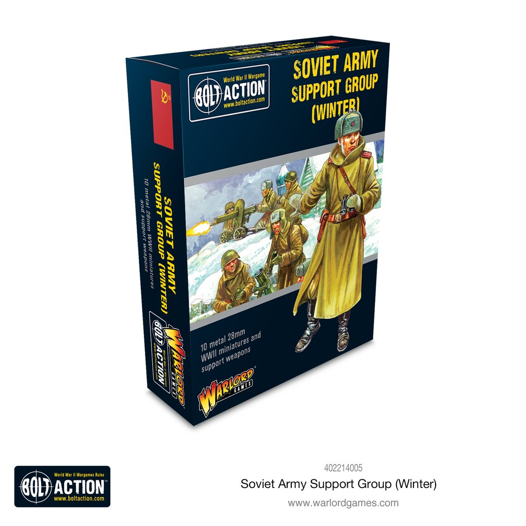 Bolt Action: Soviet: Soviet Army (Winter) Support Group