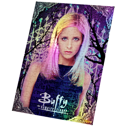 Buffy the Vampire Slayer Foil Puzzle: Framed Collectors Limited Edition