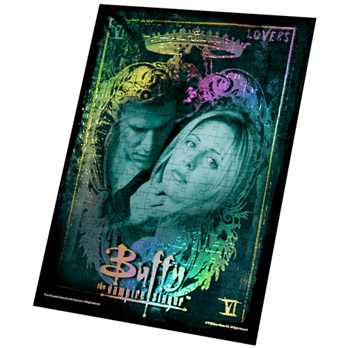 Buffy the Vampire Slayer Foil Puzzle: Lovers Collectors Edition