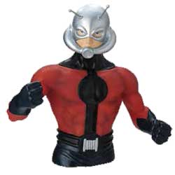 Bust Bank: Marvel- Ant Man (Damaged)