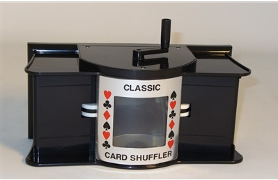 CARD SHUFFLER: MANUAL