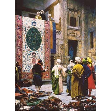 Perre Group Puzzles: Carpet Seller
