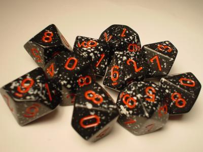Chessex (25108): D10: Speckled: Space