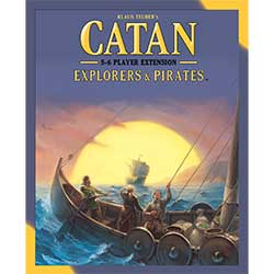 Catan (5th Edition): Expansion Explorers & Pirates 5-6 Player Extension
