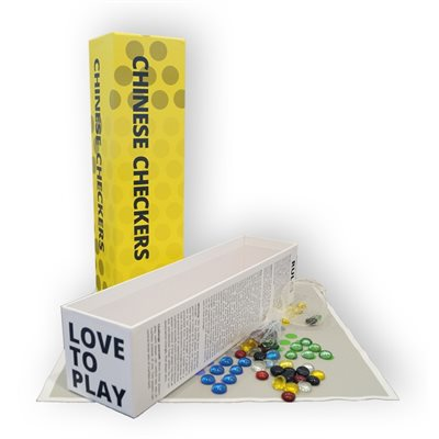 Chinese Checkers Love to Play [Damaged]