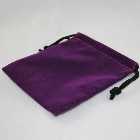 "Cloth Dice Bag (4x5""): Purple"