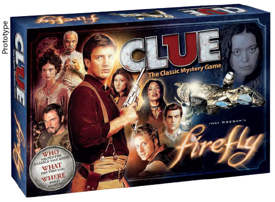 Clue: Firefly