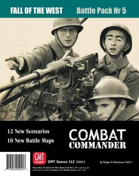 Combat Commander Battle Pack #5: Fall of the West