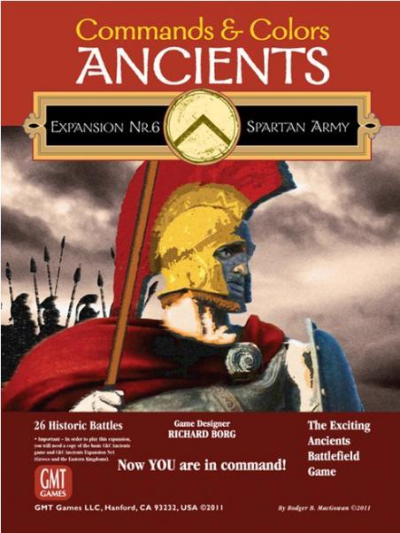 Commands & Colors Ancients: Expansion #6 - The Spartan Army