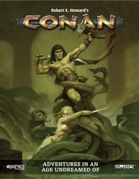 Conan: Adventures in an Age Undreamed Of (HC) [Damaged]