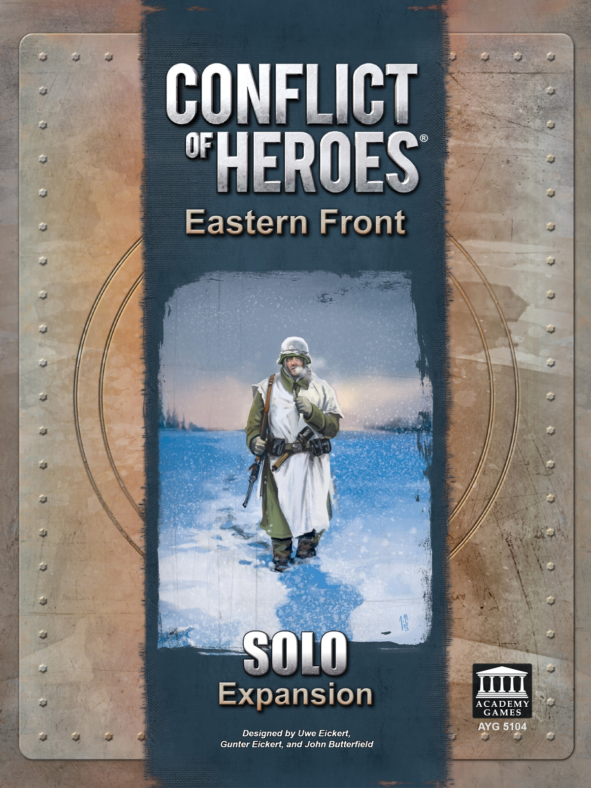 Conflict of Heroes: Eastern Front Solo Play Expansion
