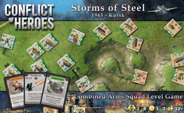Conflict of Heroes: Storms of Steel! – Kursk 1943 (3rd Edition)