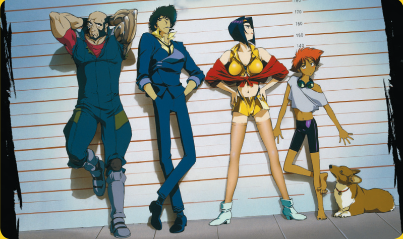 Cowboy Bebop Playmat: THE S SUSPECTS